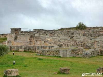Parque Arqueológico Segóbriga-Monasterio Uclés;mochila para llevar niños sierra madrid rutas and